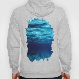 Blue Underwater Hoody