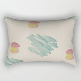 Mushroom 2 Rectangular Pillow