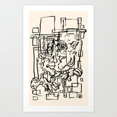 Lords Art Print