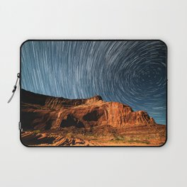 Stars on the Cliffside Laptop Sleeve