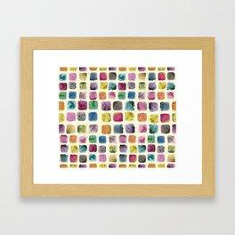 Colors in Suspension02 Framed Art Print