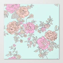 FLORAL HAPPINESS Canvas Print
