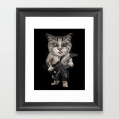 METALCAT Framed Art Print