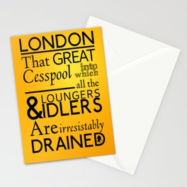 Holmesian London Stationery Cards