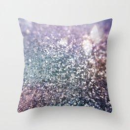 Glitter Sparkles Throw Pillow