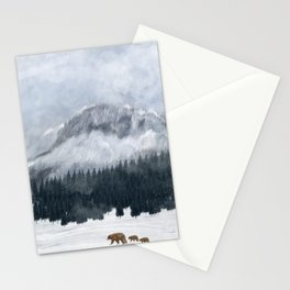 nature will find a way Stationery Cards