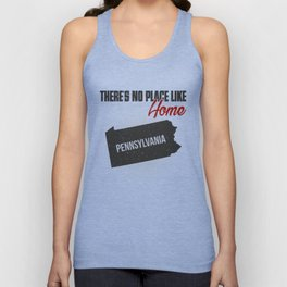 No place like home - Pennsylvania Unisex Tank Top