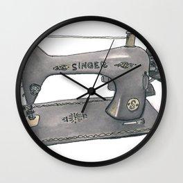 Singer Wall Clock
