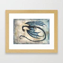Nazgul Fellbeast Framed Art Print