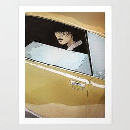 In Car Art Print