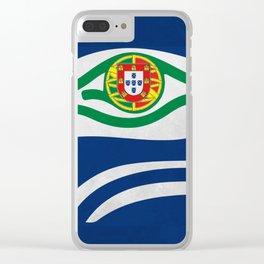 Portuguese Hawks culture Clear iPhone Case