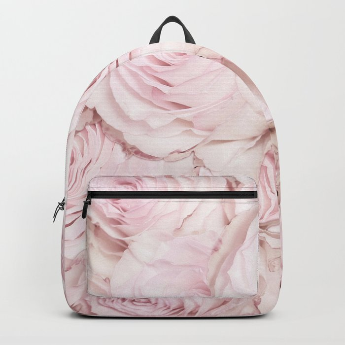Roses have thorns- Floral Flower Pink Rose Flowers on #Society6 Backpack