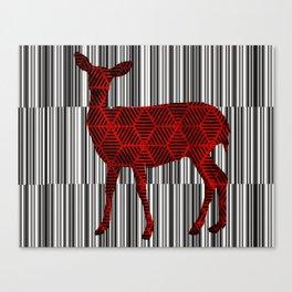 Deer Skin Canvas Print