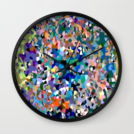 Crystallize 6 Wall Clock