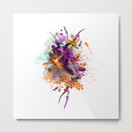 Hummingbird Joy Metal Print