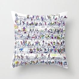 etude 65 Throw Pillow