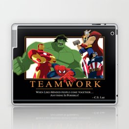 "INK-SPIRATION: ""Teamwork"" 2 Laptop & iPad Skin"
