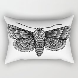 Moth Rectangular Pillow