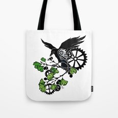 Raven and Ginkgo - Summer Cycle Tote Bag