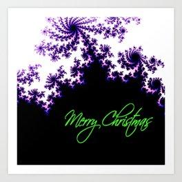 Stars for a Bright Christmas Art Print