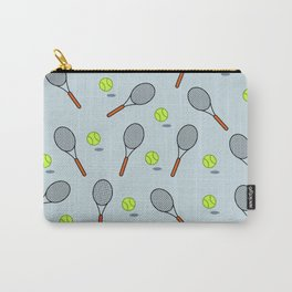 Tennis pattern Carry-All Pouch