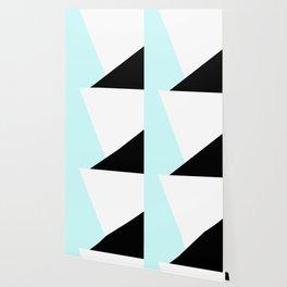 Trichromatic Aqua Blue Wallpaper