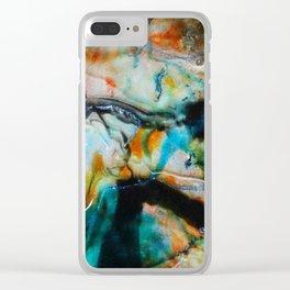 cosmic 2 Clear iPhone Case