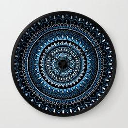 Blue in the Dark Wall Clock