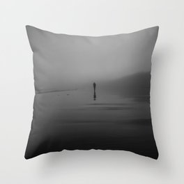 The Morning Fog Throw Pillow