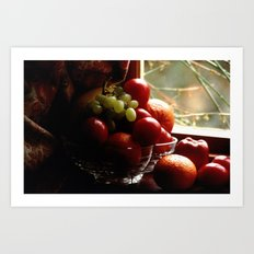 Fruit of the Moors  Art Print
