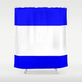Flag of salvador 4 - salvador,Salvadoran,San Salvador,salvadoreño,Guanaco. Shower Curtain