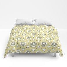 dots in green Comforters