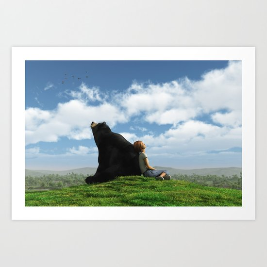 Cloud Watchers Art Print