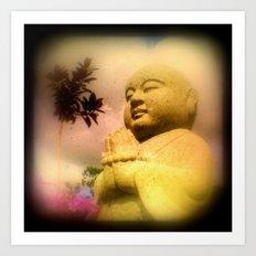 Zen Buddha Art Print