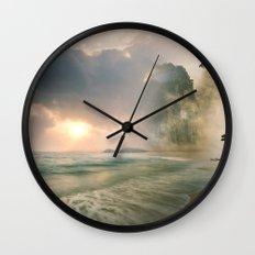 Dream Destination Wall Clock