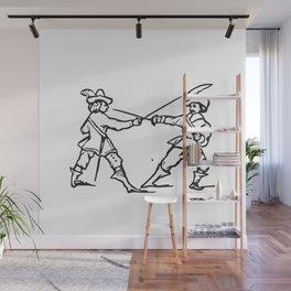 Musketeers Wall Mural