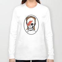 aladdin Long Sleeve T-shirts featuring Aladdin Sane by zombieCraig by zombieCraig
