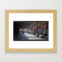 Day of Nations Framed Art Print