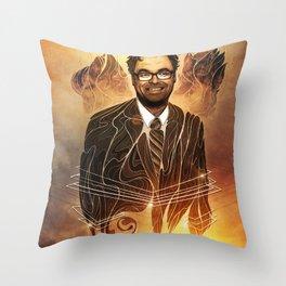 Mauro Ranallo Throw Pillow