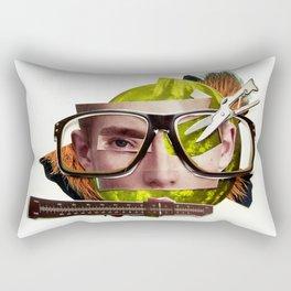 Make me perfect | Collage Rectangular Pillow
