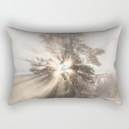 Winter Tree - Yellowstone Rectangular Pillow