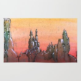 Mountain Stronghold Rug