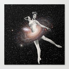 Cosmic Ballerina, Part 2 Canvas Print