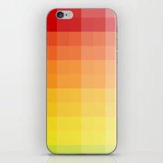 citrus pixelate iPhone Skin