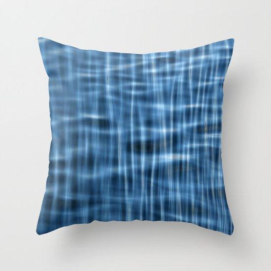 Water Pattern #1 Throw Pillow