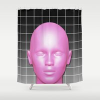 giants Shower Curtains featuring GIANTS by ESIB
