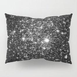 staRs Black & White Pillow Sham