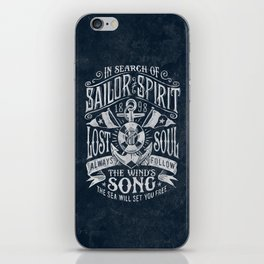 Sailor Spirit iPhone Skin