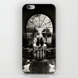 Room Skull B&W iPhone Skin