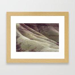 Hills as Canvas, No. 1 Framed Art Print